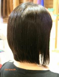 香草カラー+縮毛矯正
