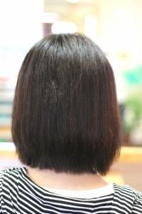 縮毛矯正特殊系アフター1