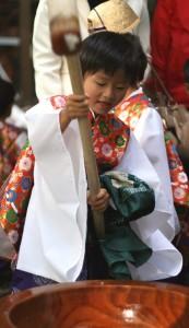 中村神社(御稚児さん)