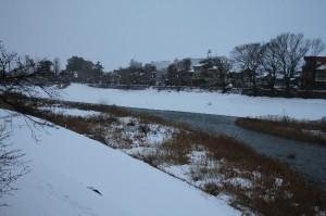 2009犀川 雪