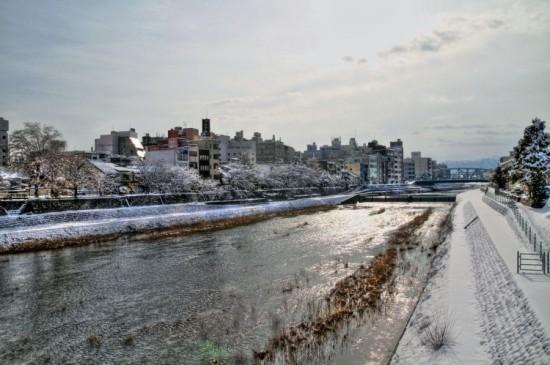 2013 2/23 石川県金沢市 犀川 HDR