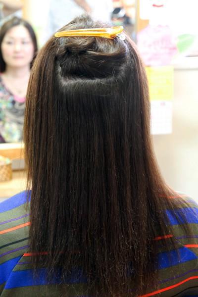 ハイダメージの縮毛矯正 ビビリ・断毛・抜け毛