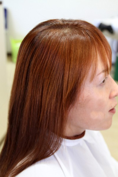 酸性縮毛矯正 スピエラ 軟毛 ダメージ
