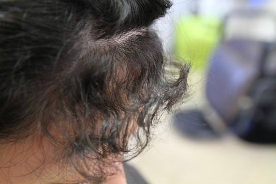 酸性縮毛矯正 スピエラ レディース前髪縮毛矯正
