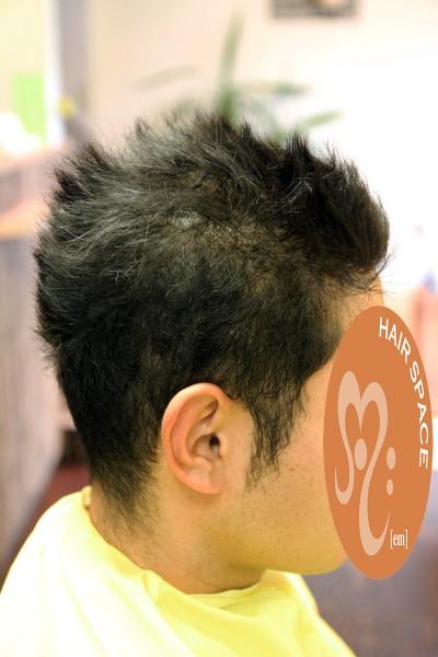 メンズ縮毛矯正 酸性縮毛矯正 短い縮毛矯正