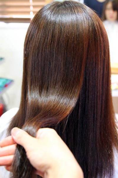 痛まない 酸性縮毛矯正 スピエラ縮毛矯正
