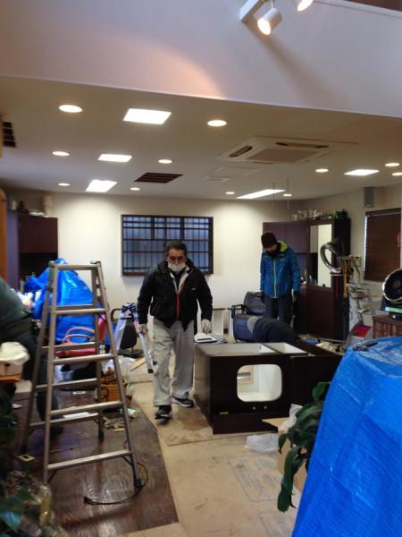 美容室 理容室 改装中 金沢市