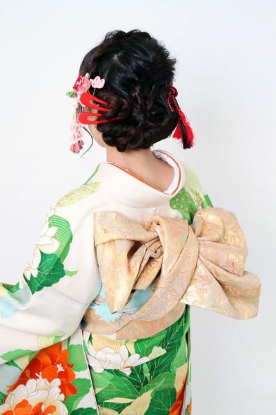 石川県金沢市 成人式 着付け ヘアー 2015.01