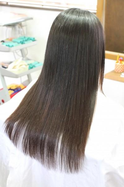 細い髪の縮毛矯正 石川県 金沢市 癖毛 ダメージ